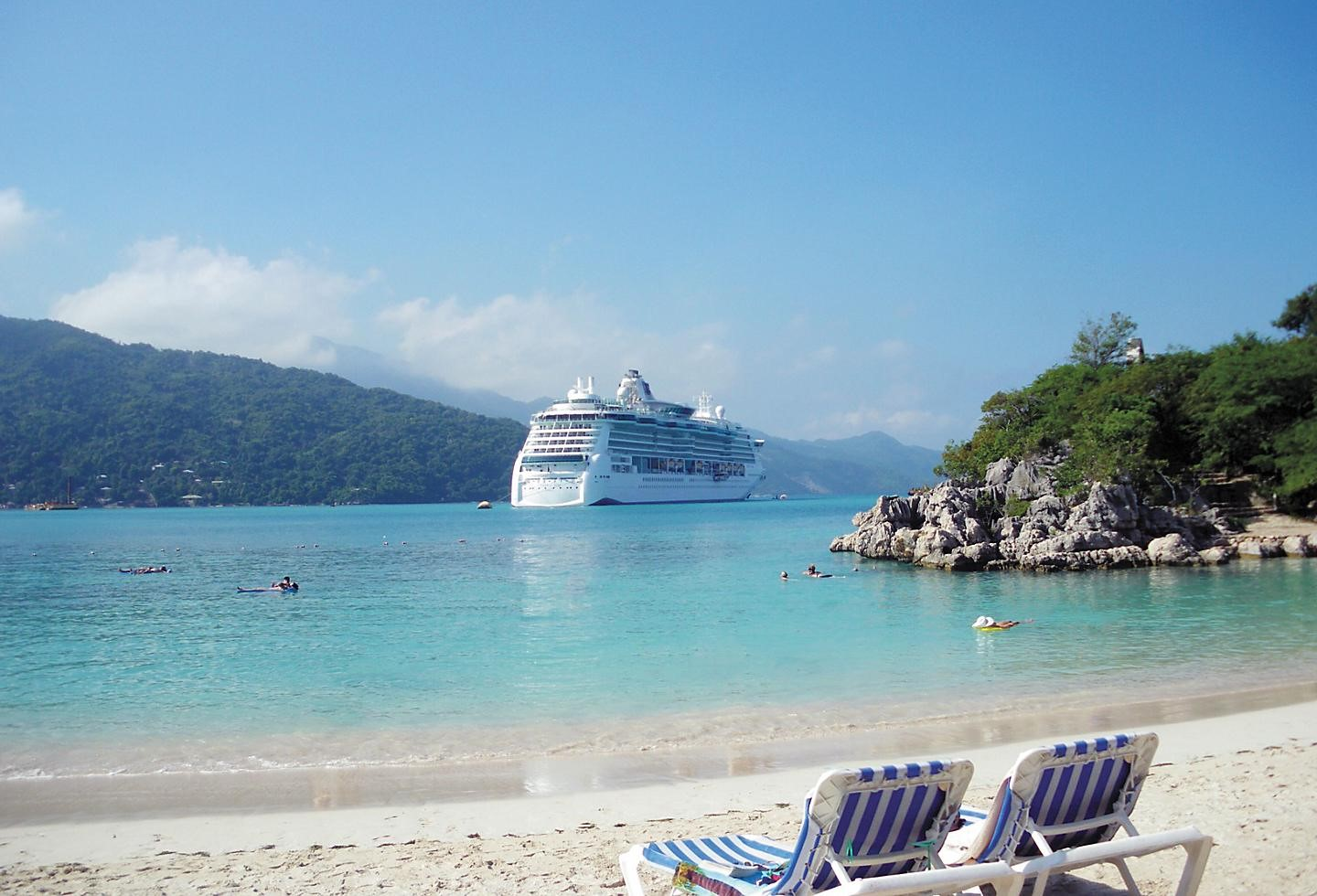 Adventure of the Seas in Labadee